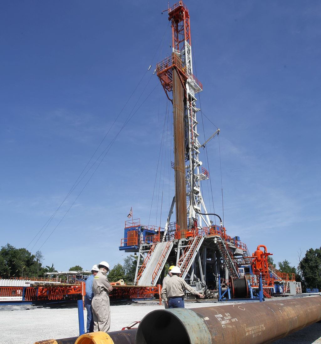 Gas Drilling 2012