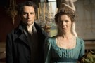 "The two-part miniseries ""Death Comes to Pemberley"" stars Matthew Rhys as Darcy and Anna Maxwell Martin as Lizzy. It will air on PBS on Sunday and Nov. 2."