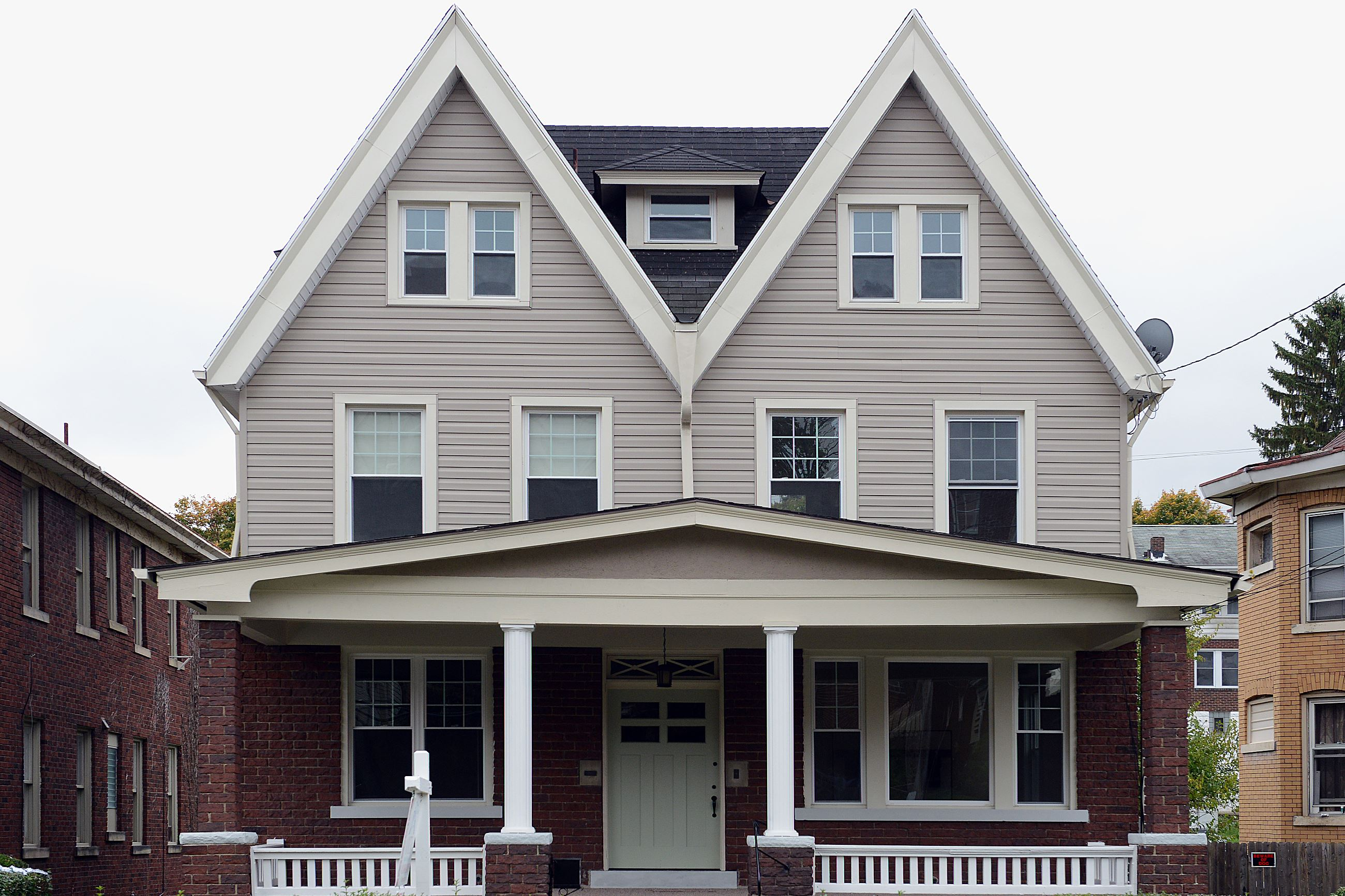 Auto Garage For Sale Pittsburgh: Buying Here: Two-gabled House In Brookline