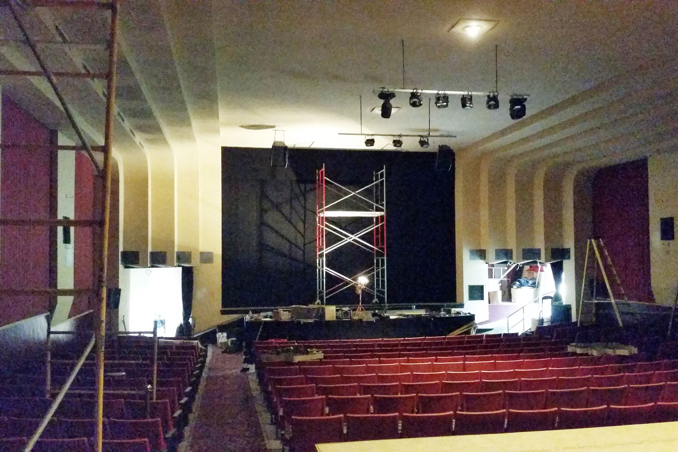 Oaks Theater In Oakmont Undergoing Transformation