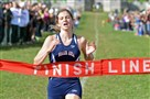 Shaler's Brianna Schwartz shown here winning the WPIAL class AAA cross country championship at Cooper's Lake Campground on Oct. 23, 2014.