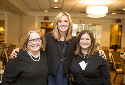 Standing Up for Standing Firm: Lynette Lederman, Susan Koeppen and Kathy Lederman.