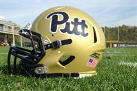 Script Pitt logos will be worn in Pitt's Saturday game against Georgia Tech.