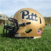 Pitt's script logo will appear on the team's helmet today against Georgia Tech and for the rest of the season. The Panthers most recently wore the script from the in 1997.