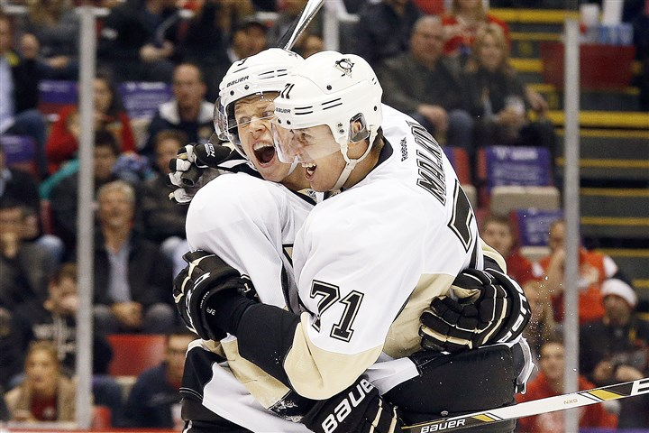 pens1024b Penguins defenseman Olli Maatta, left, was named to Finland's team, and Evgeni Malkin was named to Russia's team by the Russian Ice Hockey Federation for the 2016 World Cup of Hockey.