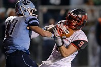 West Allegheny's Christian Stout steals the ball away from Central Valley's B.J. Powell for a turnover in the first half Friday night.