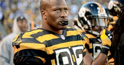 Steelers linebacker James Harrison has looked fresh after missing two games due to a knee injury.