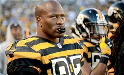 James Harrison has said he would like to play football in 2015. The Steelers re-signed him to a two-year contract.