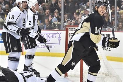 Fleury's shutout boosts Penguins past Kings