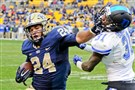 Pitt running back James Conner finished second in ACC Preseason Player of the Year voting.