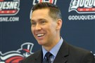"""It's something that hurts and anyone who tells you differently is lying,"" Duquesne coach Dan Burt said of his team missing out on the NCAA tourney."