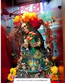 Day of the Dead altar at Mexico Lindo Artisan Gallery in Squirrel Hill.