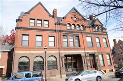 The 38-room building in the heart of the Allegheny West historic district is on the market for $949,000.