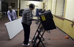 Today Pennsylvania voters will cast ballots in primary elections for president, Congress, state attorney general and the state Legislature.