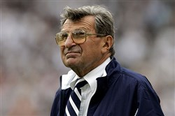 Joe Paterno died in January 2012.