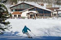 Tannenbaum is one of three base lodges at Holiday Valley in Ellicottville, N.Y.