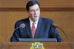 Pittsburgh Mayor Bill Peduto gives his State of the City speech to City Council on Nov. 10.
