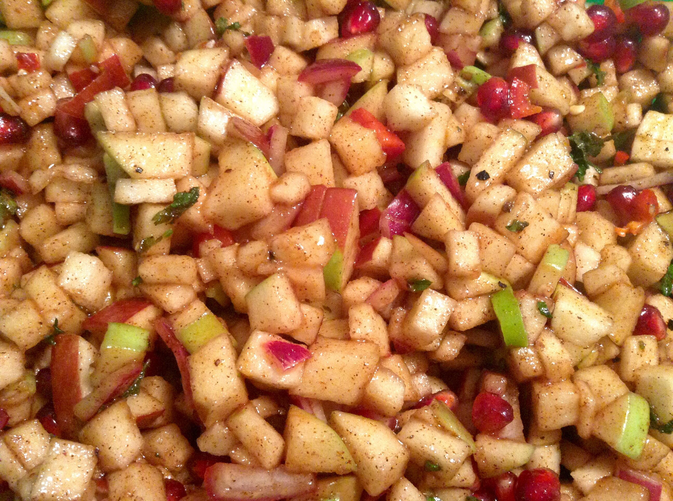 20141111hoapplesalsafood Apple Salsa.