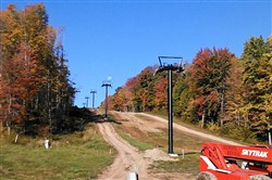 A triple chairlift is giving new life to Mount Pleasant resort at Edinboro.