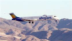 Allegiant will start twice-weekly service to New Orleans from Pittsburgh International Airport on Feb. 19.