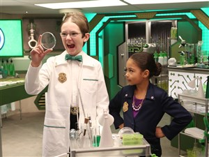"""""""Odd Squad,"""" a live-action series that helps kids 5-8 learn math, scored 14 Daytime Emmy nominations Wednesday."""