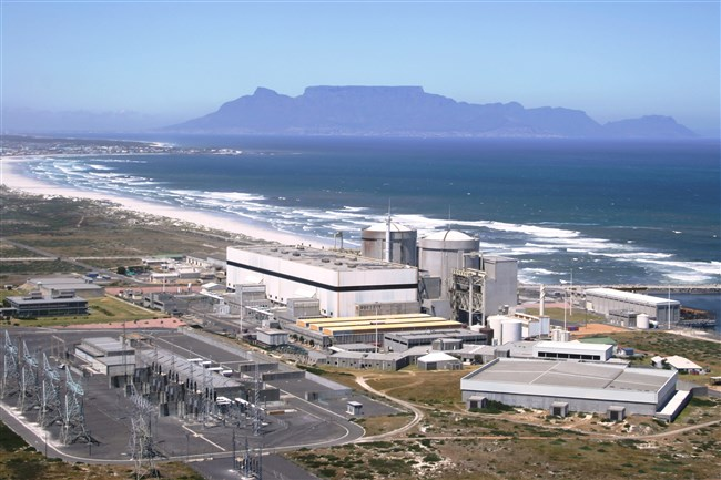 The Koeberg nuclear power station in South Africa needs six new steam generators, a $370 million project whi
