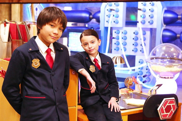 "Filip Gljo as Agent Otto and Dalila Bela as Agent Olive Filip Gljo as Agent Otto and Dalila Bela as Agent Olive star in the new PBS Kids series ""Odd Squad."" The Fred Rogers Company is a producer of the show."