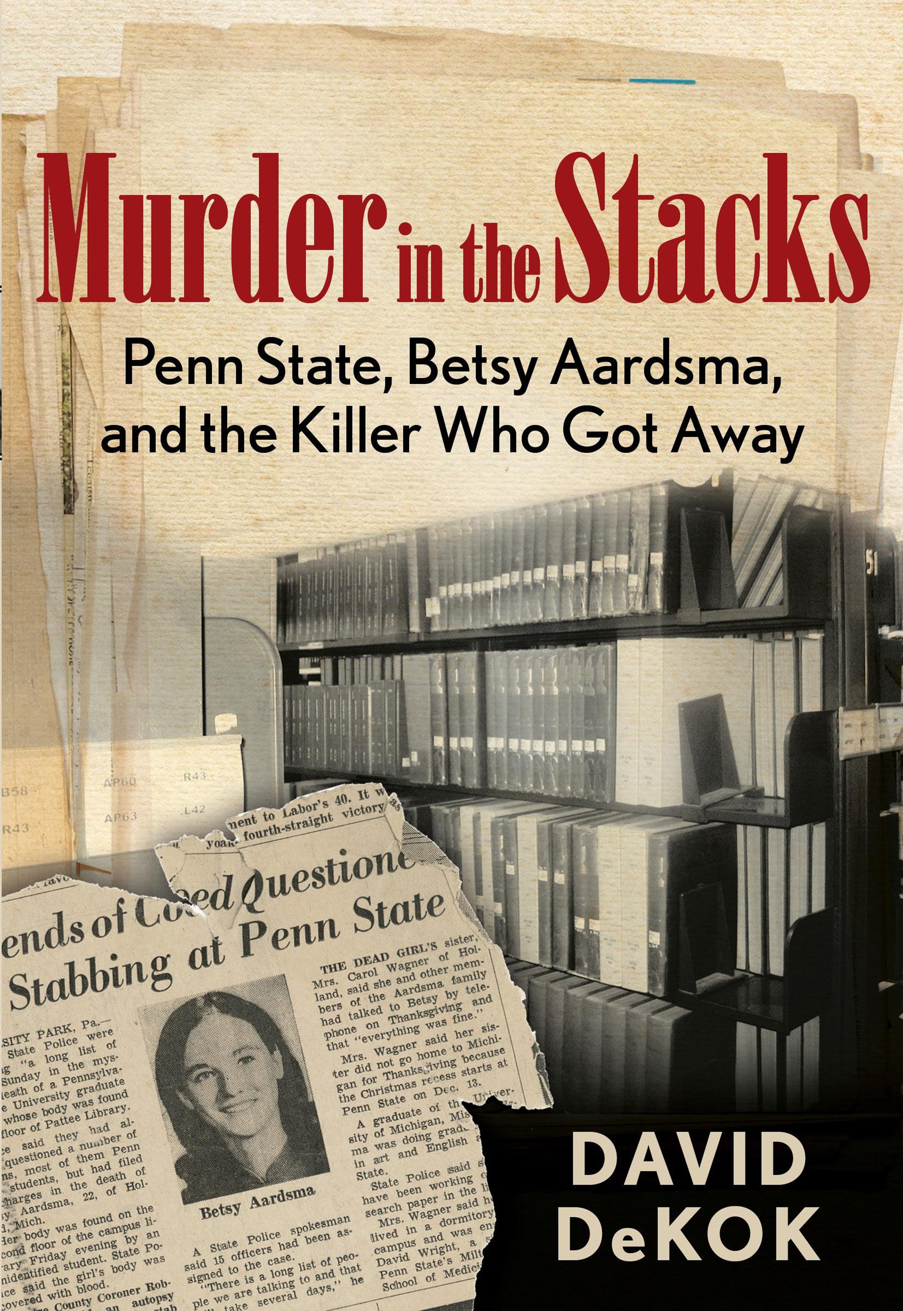 paper chase  with  u0026 39 murder in the stacks  u0026 39  david dekok