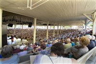 The Chautauqua Amphitheater, shown in August 2010.