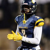 Central Catholic defensive back Damar Hamlin is ranked among the top players in the country.