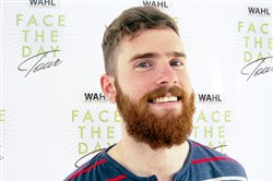 Conor Barrett, 25, of Point Breeze is the Wahl Man of the Year for best facial hair.