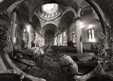 """Rebuild My Church, by Christopher Ruane of Pittsburgh. ""  Honorable mention award-winning digital photograph."