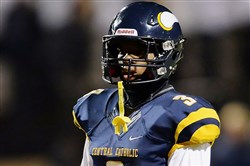Central Catholic defensive back Damar Hamlin had a steadying hand in the Vikings staunch defense last season.