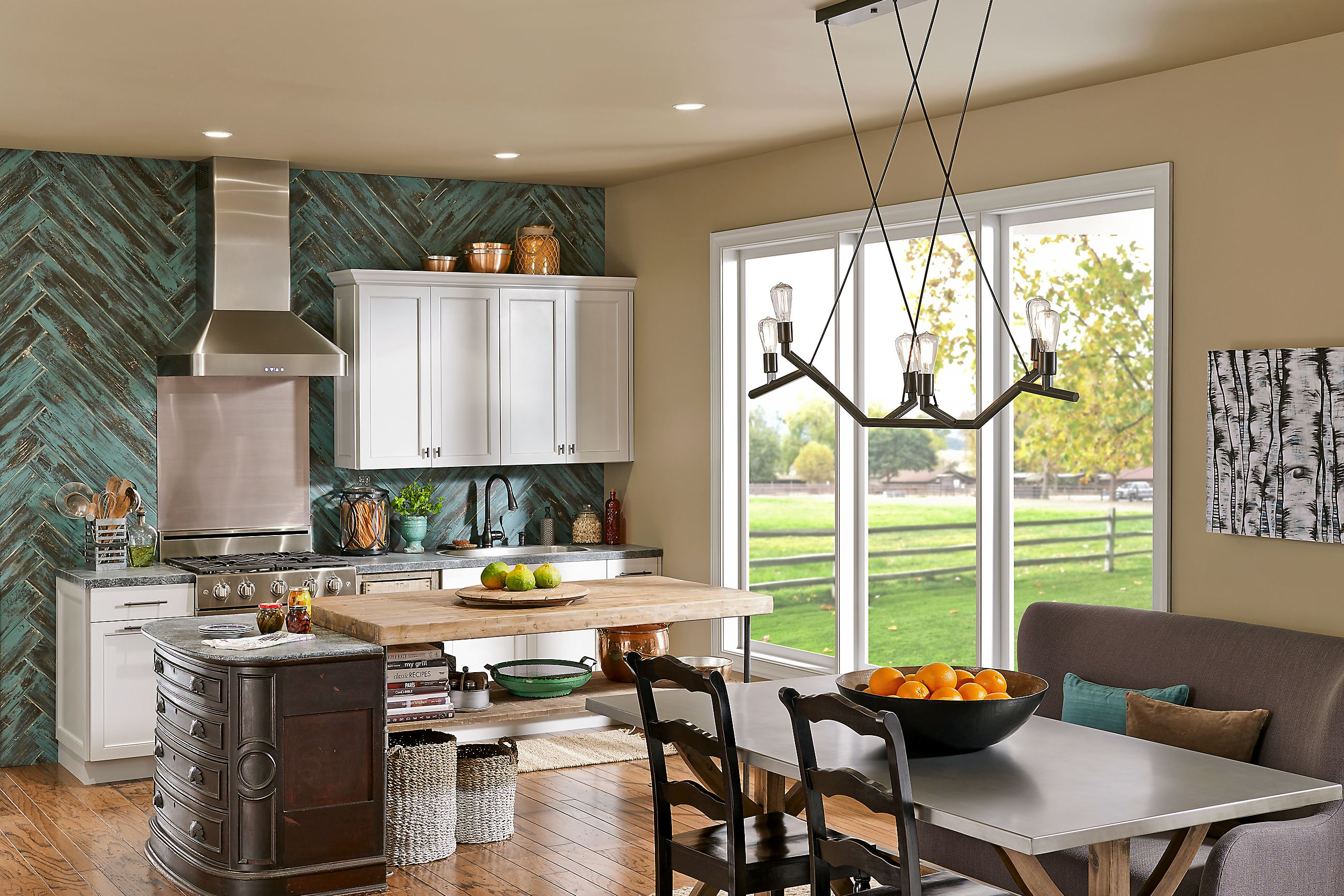 Applying 16 Bright Kitchen Paint Colors: The Color Forecast Is Bright For Interior Paints