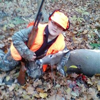 Brayden Young, 12, of McKees Rocks bagged his first whitetail Oct. 25 in Robinson, during a special statewide hunt for juniors, seniors, disabled hunters and Pennsylvania residents serving on active military duty.