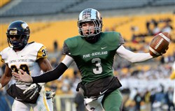 Pine-Richland quarterback Ben DiNucci will go to Pitt instead of Penn of the Ivy League.