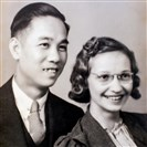 Hoy Fung, left, met his wife, Lorraine, when she came to work for him as a waitress in one of the first Chinese restaurants in the region, the Bellevue Tea Garden on Lincoln Avenue in Bellevue, which opened in 1926.