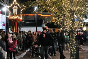 Pittsburgh's 54th annual Light Up Night brought out the crowds to the Holiday Market in Market Square.