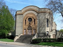Former Temple Israel in New Castle
