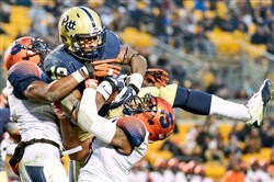 Sto-Rox alum Dontez Ford could've been pulled down by the life around him, but instead he's pulling in passes for Pitt football.