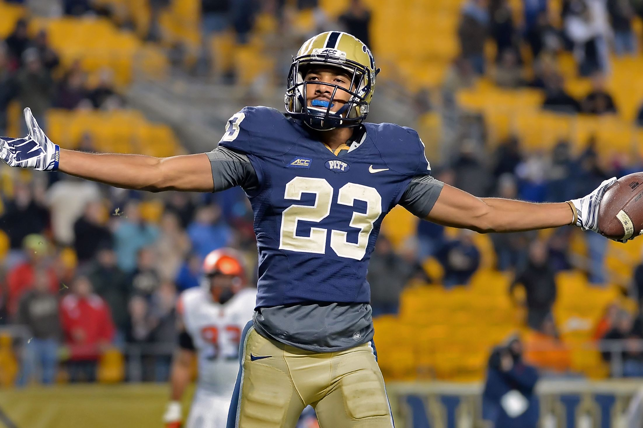 Pitt will be hitting the road early in the 2015 football