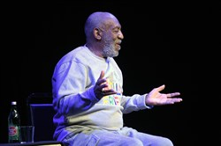 Comedian Bill Cosby performs Friday in Melbourne, Florida.