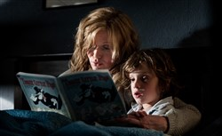 "Essie Davis, left, and Noah Wiseman in ""The Babadook."""