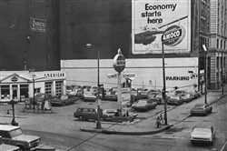 Albert's Sale & Service, Downtown, in the early 1970s