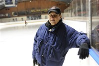 Bob Mock, 64, of Turtle Creek often works seven days a week as skating director of Ice & Blades of Western Pennsylvania and teaches ice skating at the Rostraver Ice Garden.