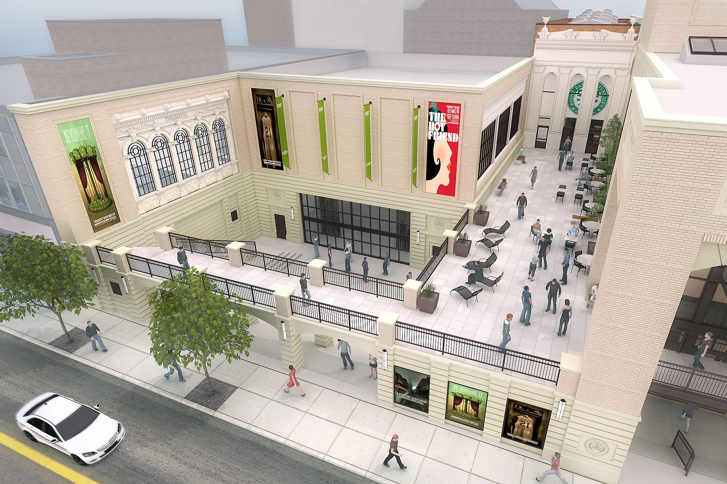 Pittsburgh playhouse project approved over objections of for Playhouse project
