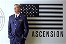 "Brian Van Holt portrays Capt. William Denninger in the Syfy miniseries ""Ascension."""
