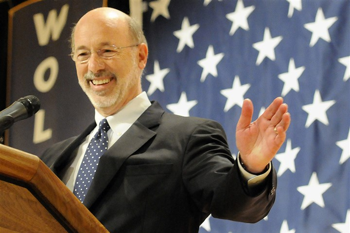 20141209bdElection Pennsylvania Gov.-elect Tom Wolf will take office in less than a week.