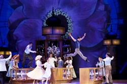 "The first images of the new stage production of ""An American in Paris."""