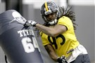 The Steelers could switch Jarvis Jones to left outside linebacker this season.